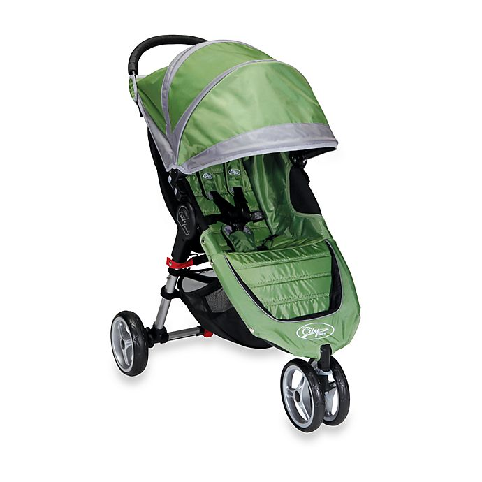 Baby Jogger City Mini Single Stroller In Green Grey