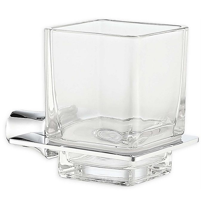 Alternate image 1 for ANZZI Essence Toothbrush Holder in Polished Chrome