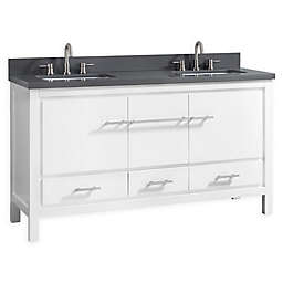 Azzuri Riley 61-Inch Vanity Combo with Mirror in White