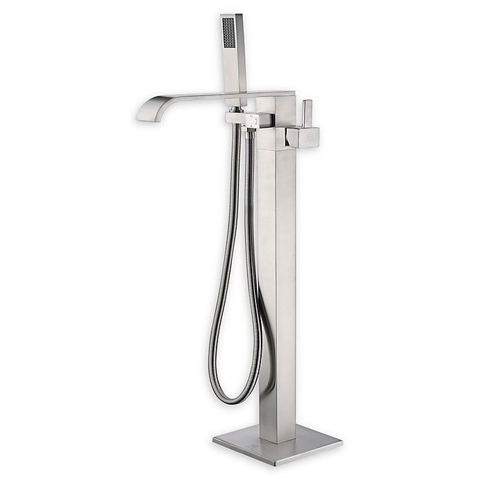 Anzzi Angel 2 Handle Freestanding Clawfoot Tub Faucet With Hand