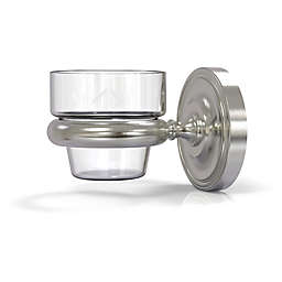 Allied Brass Prestige Regal Wall-Mount Votive Candle Holder in Satin Nickel