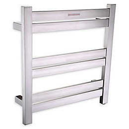 ANZZI Starling 6-Bar Stainless Steel Wall Mounted Electric Towel Warmer Rack