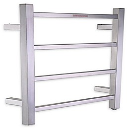 ANZZI Modern Design 4-Bar Stainless Steel Wall Mounted Electric Towel Warmer Rack