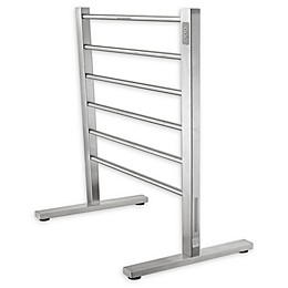 ANZZI Kiln 6-Bar Stainless Steel Free Standing Electric Towel Warmer Rack