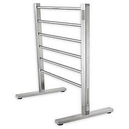 ANZZI Kiln 6-Bar Stainless Steel Free Standing Electric Towel Warmer Rack