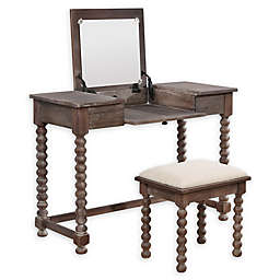 Linon Home Ashley Spindle Vanity Set