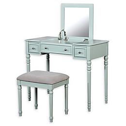 Linon Home Alicia Vanity Set