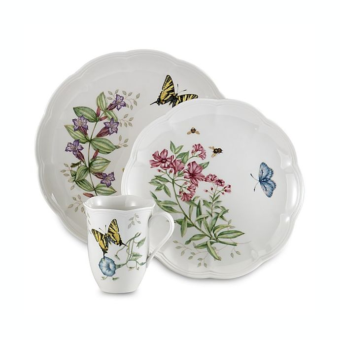 Alternate image 1 for Lenox® Butterfly Meadow® Tiger Swallowtail Dinnerware Collection