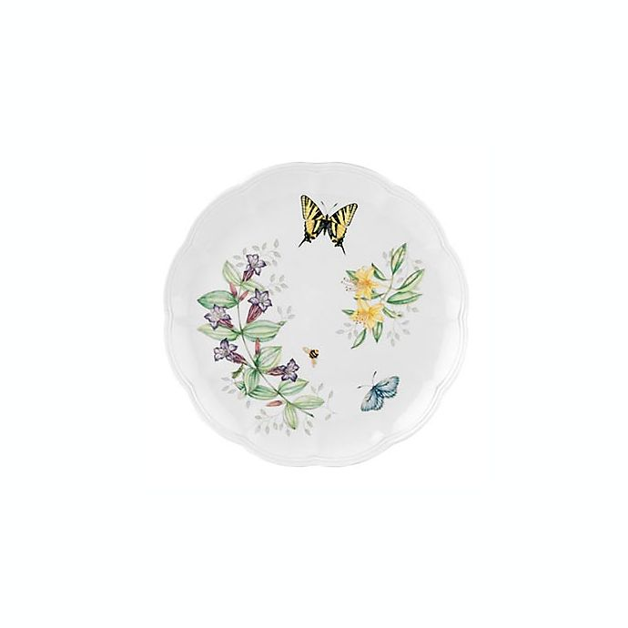 Alternate image 1 for Lenox® Butterfly Meadow® Tiger Swallowtail Dinner Plate