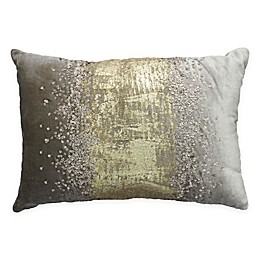Cloud9 Design Rain Sequin Throw Pillow in Gold
