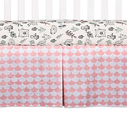 Lolli Living™ Kayden Scallop Crib Skirt in Pink