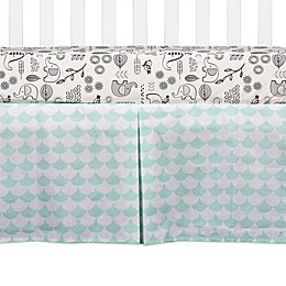 Lolli Living™ Kayden Scallop Crib Skirt in Green