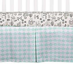 Lolli Living™ Kayden Scallop Crib Skirt in Green