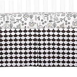 Lolli Living™ Kayden Scallop Crib Skirt in Black