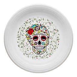 Fiesta® Halloween Sugar Skull Chop Plate in White
