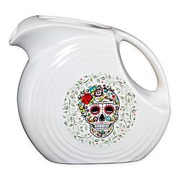 Fiesta® Halloween Sugar Skull Large Disc Pitcher