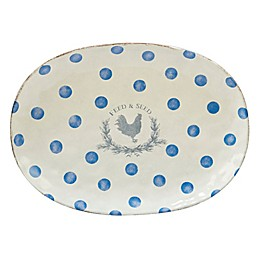 Certified International Urban Farmhouse™ By Susan Winget Oval Platter