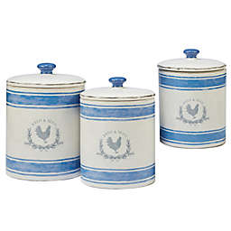 Certified International Urban Farmhouse™ By Susan Winget 3-Piece Canister Set