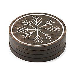 Lenox® Alpine™ Carved Coasters (Set of 4)