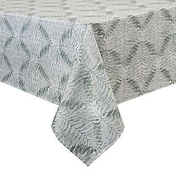 Basics Fabia Printed Tablecloth in Sage