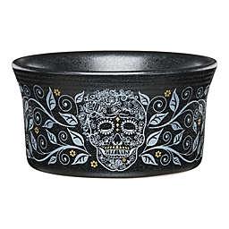 Fiesta® Halloween Skull and Vine Ramekin in Black