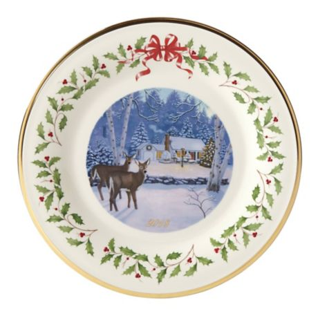Lenox 174 2018 Annual Holiday Collector Plate Bed Bath Amp Beyond