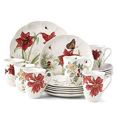 Lenox® Butterfly Meadow™ Holiday 18-Piece Dinnerware Set