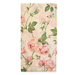 Boston International 16-Count Bramble Rose Paper Guest Towels