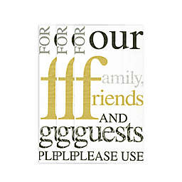 Family, Friends, and Guests 16-Count Paper Guest Towels