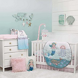 NoJo® Sugar Reef Mermaid Crib Bedding Collection
