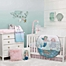 Part of the NoJo® Sugar Reef Mermaid Crib Bedding Collection
