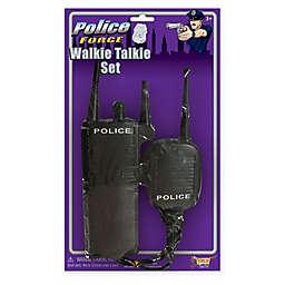 Police 2-Piece Adult Halloween Walkie Talkie Set