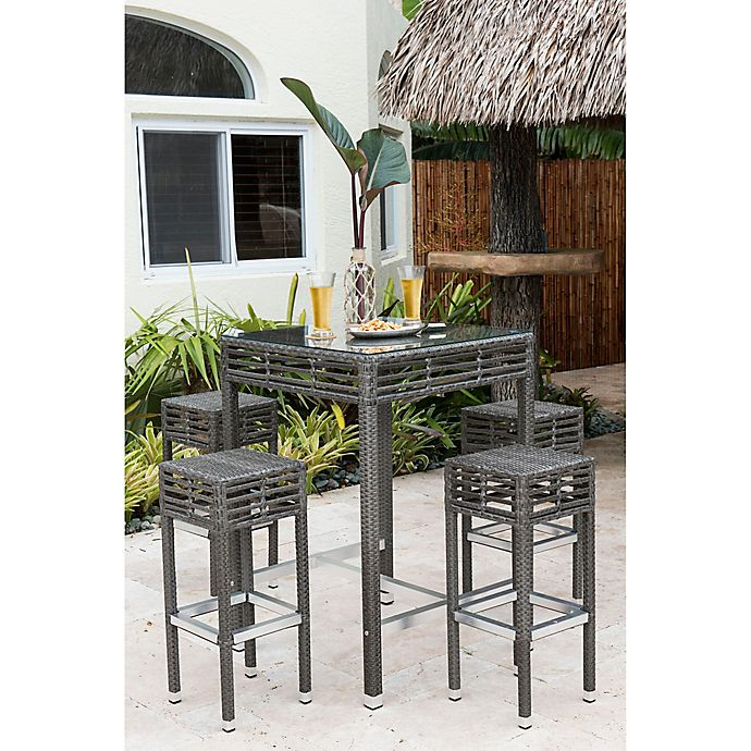 Alternate image 1 for Panama Jack Graphite Outdoor Furniture Collection