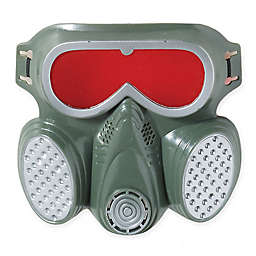 Adult Halloween Biohazard Gas Mask in Grey