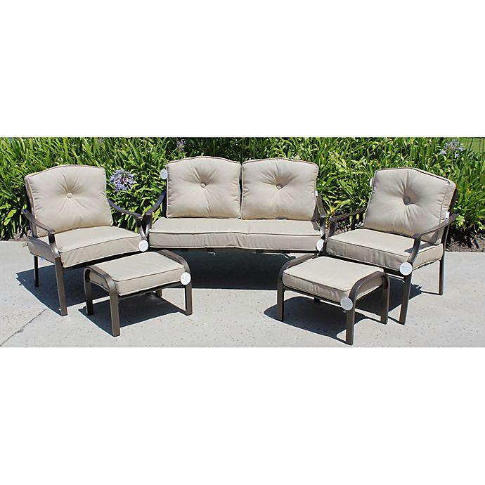 Solarium Outdoor 9 Piece Seat Cushion