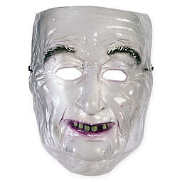Transparent Old Man Mask Adult Halloween Costume