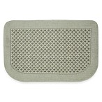 "Tricol 20"" x 30"" Slice Kitchen Mat in Fog"