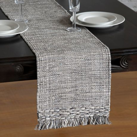 Brittany 90 Inch Table Runner In Neutral Bed Bath Beyond