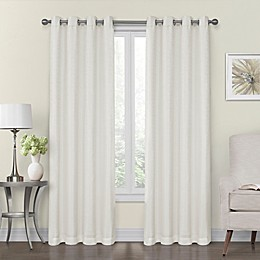 Monroe Lined and Interlined Grommet Top Window Curtain Panels