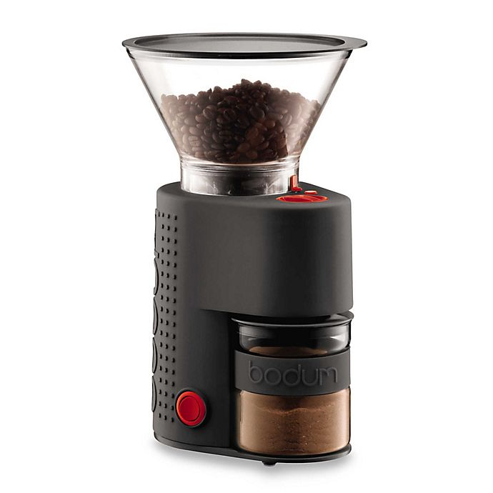 Alternate image 1 for Bodum® Bistro Electric Burr Coffee Grinder