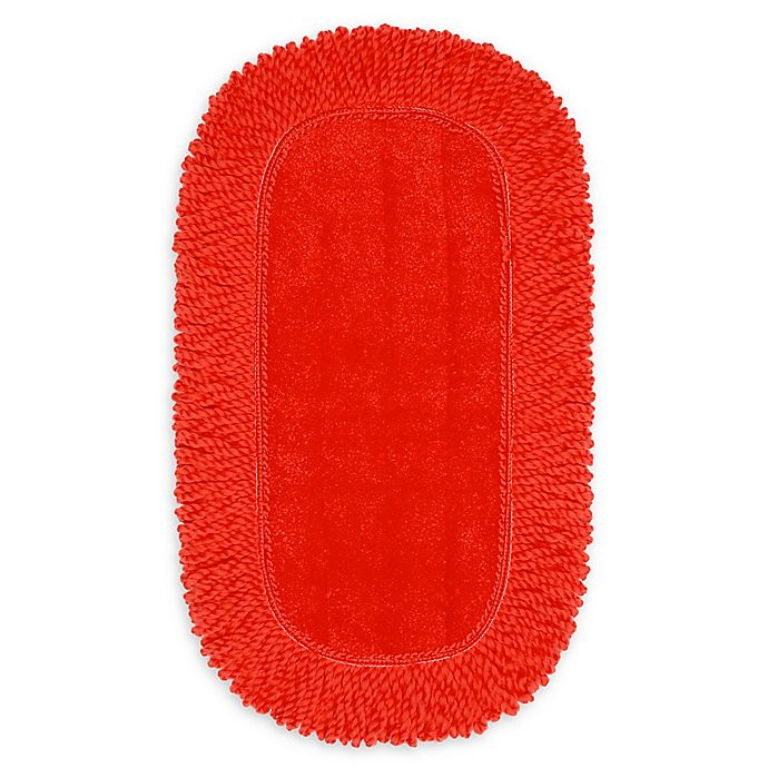 Alternate image 1 for OXO Good Grips® Microfiber Floor Duster Replacement Pad in Red