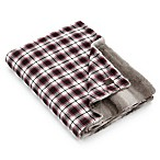 UGG® Oakland Throw in Redwood/Charcoal