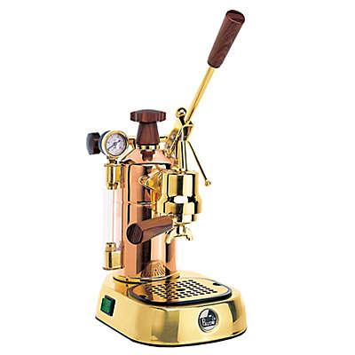 LaPavoni® Espresso Maker with Automatic Cappucinno Attachment in Copper