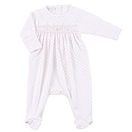 Magnolia Baby™ Hope's Rose Smocked Footie in Pink