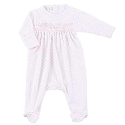 Magnolia Baby™ Hope's Rose Smocked Footie in Pink