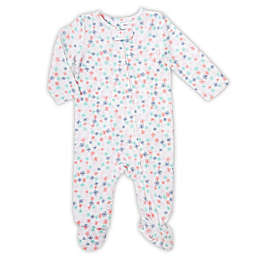 aden® by aden + anais® Floral Footed Coverall in White
