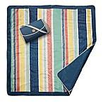 JJ Cole® Peruvian Stripe Outdoor Mat in Grey
