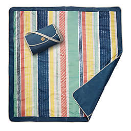 JJ Cole® Peruvian Stripe Outdoor Mat in Grey