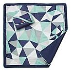 JJ Cole® Outdoor Mat in Blue Fractal