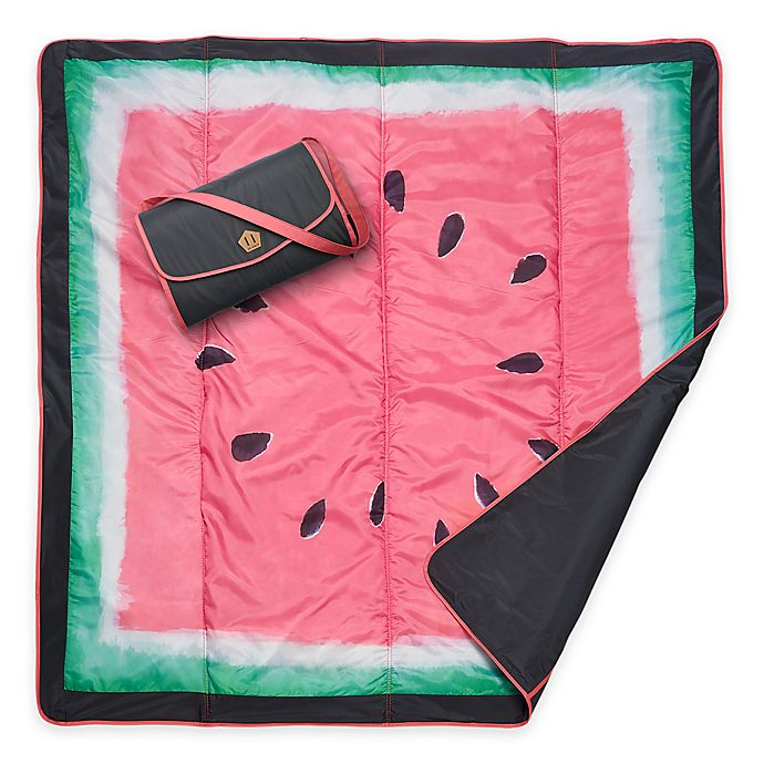 Alternate image 1 for JJ Cole® Watermelon Outdoor Mat in Green